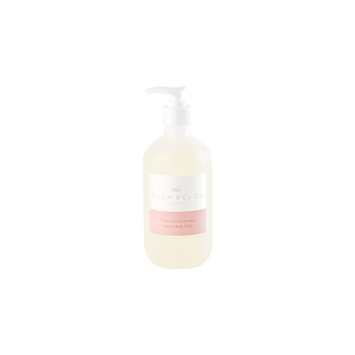 White Rose & Jasmine Hand & Body Wash